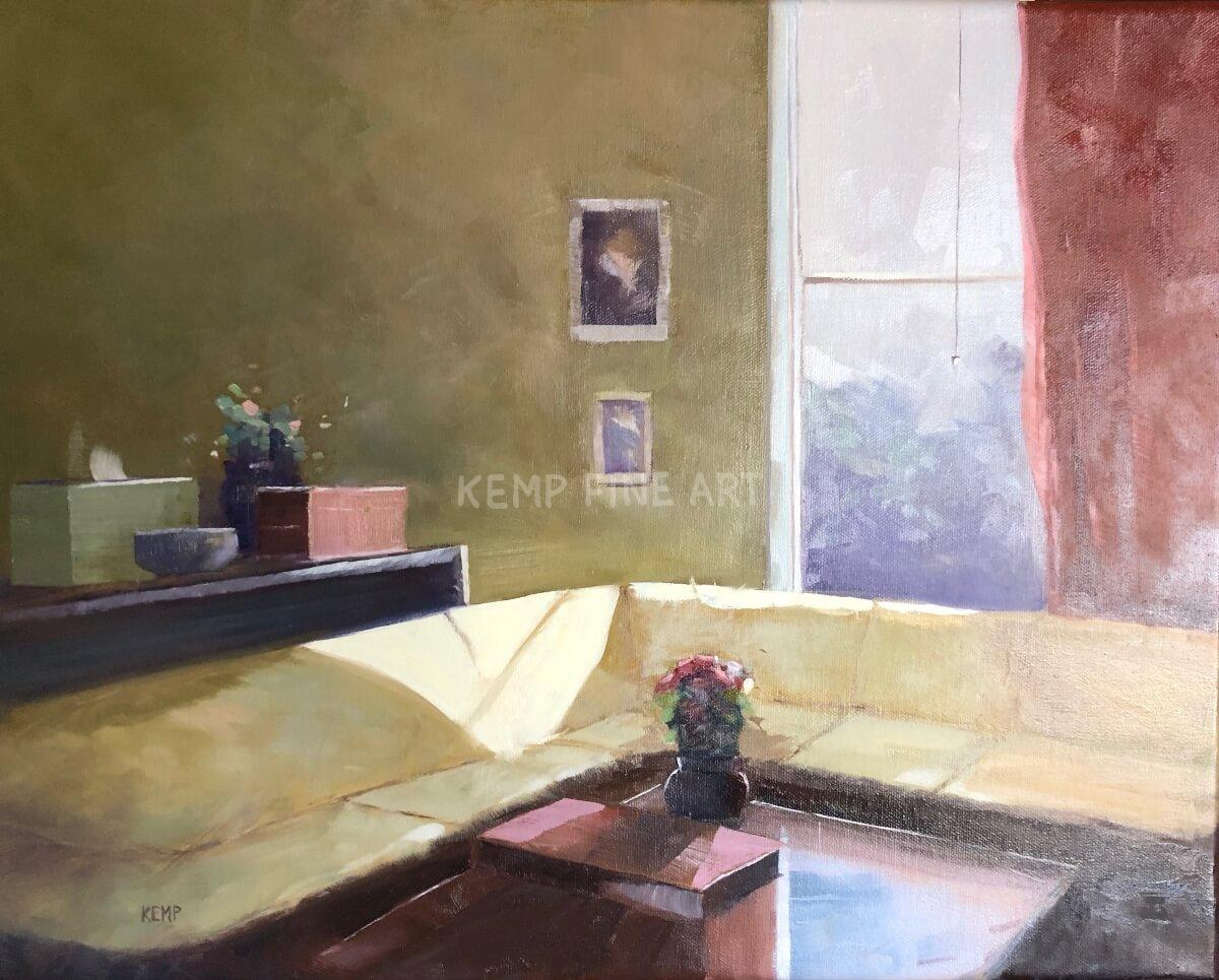 Study (Creating Light & Depth) | Oil on Canvas - by Jim Kemp
