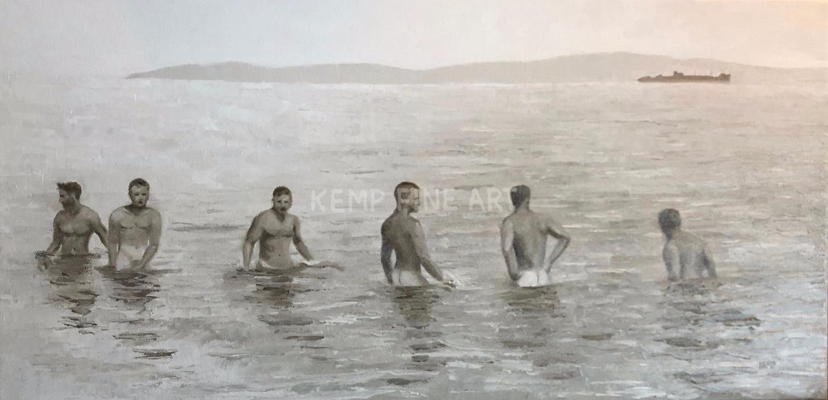 World War II Buffs | Oil on Canvas - by Jim Kemp