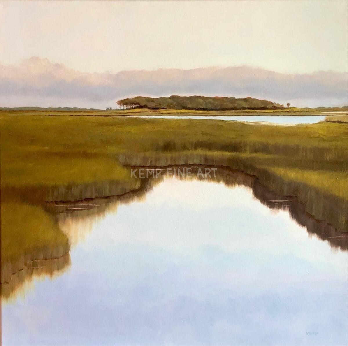 Morning Still | Oil on Canvas - by Jim Kemp