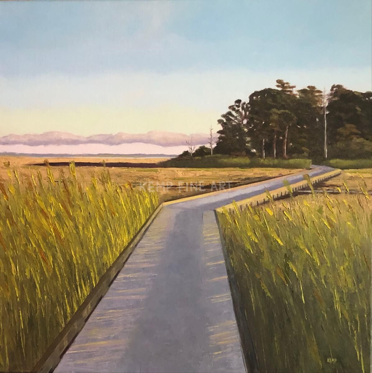 Walk This Way | Oil on Canvas - by Jim Kemp