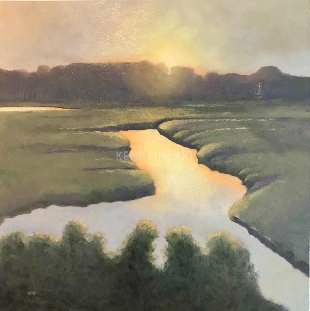 Last Light | Oil on Canvas - by Jim Kemp