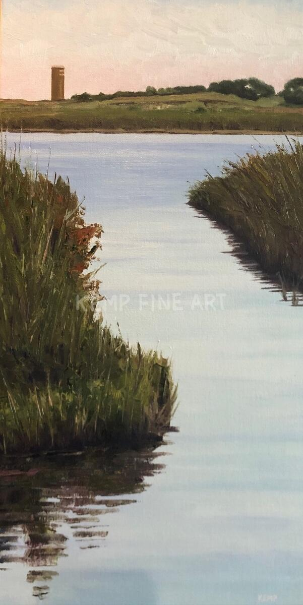 Fort Eyes | Oil on Canvas - by Jim Kemp