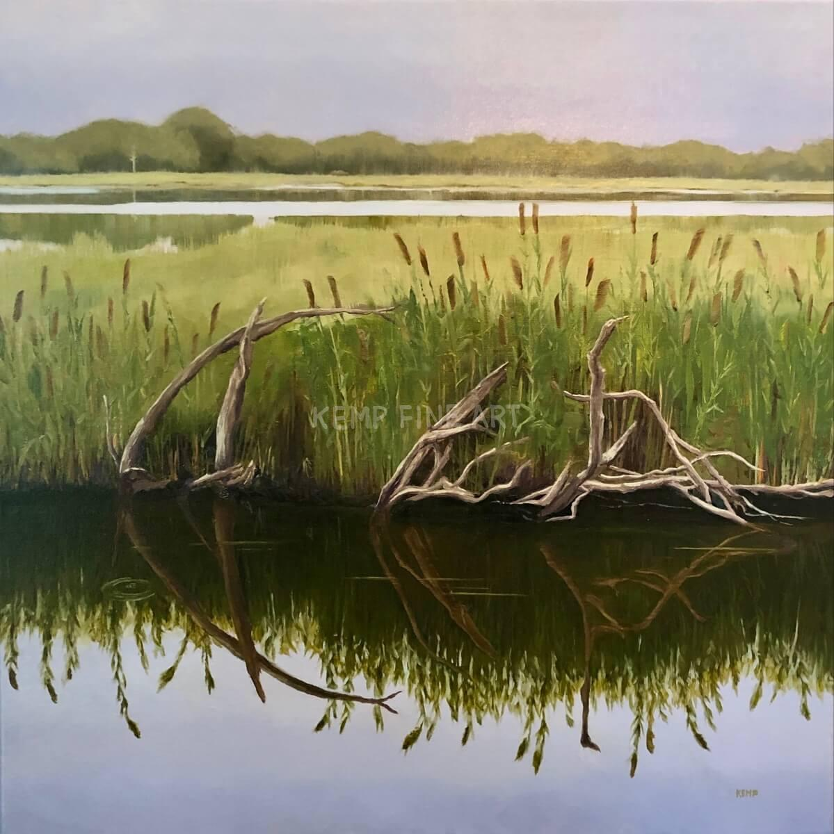 Past Their Prime Hook | Oil on Canvas - by Jim Kemp