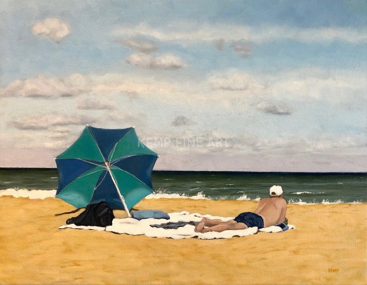 Ocean Therapy | Oil on Canvas - by Jim Kemp