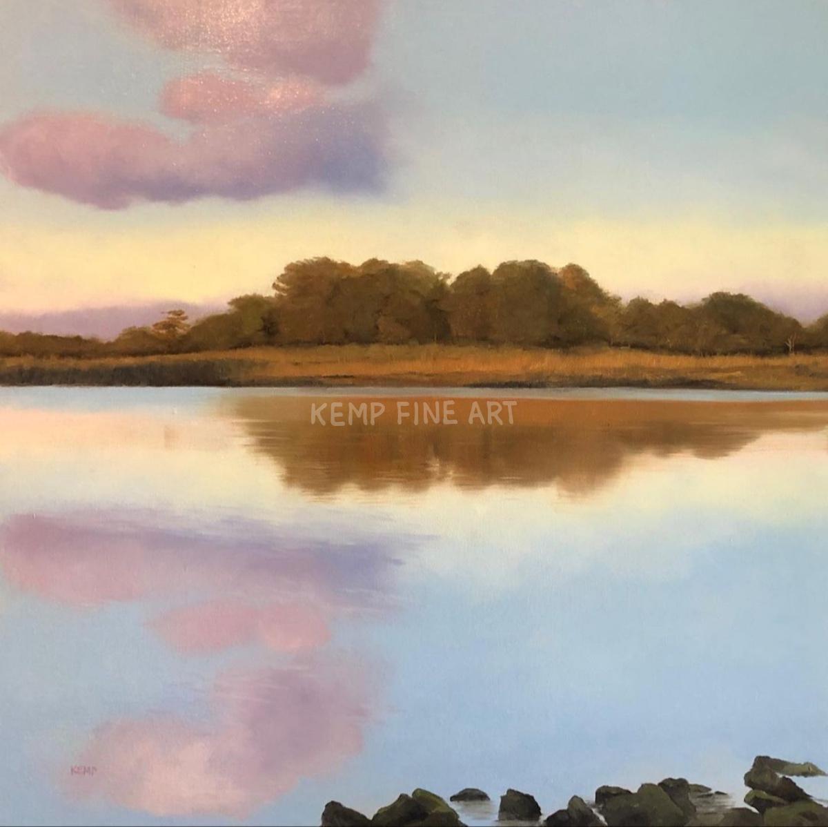 Burton Island | Oil on Canvas - by Jim Kemp