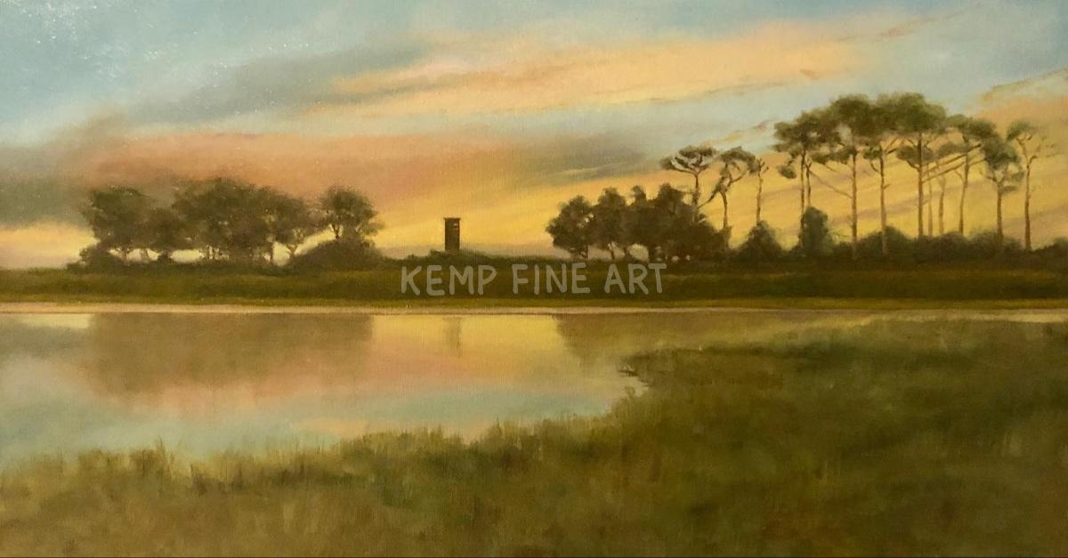 On Gordons Pond | Oil on Canvas - by Jim Kemp