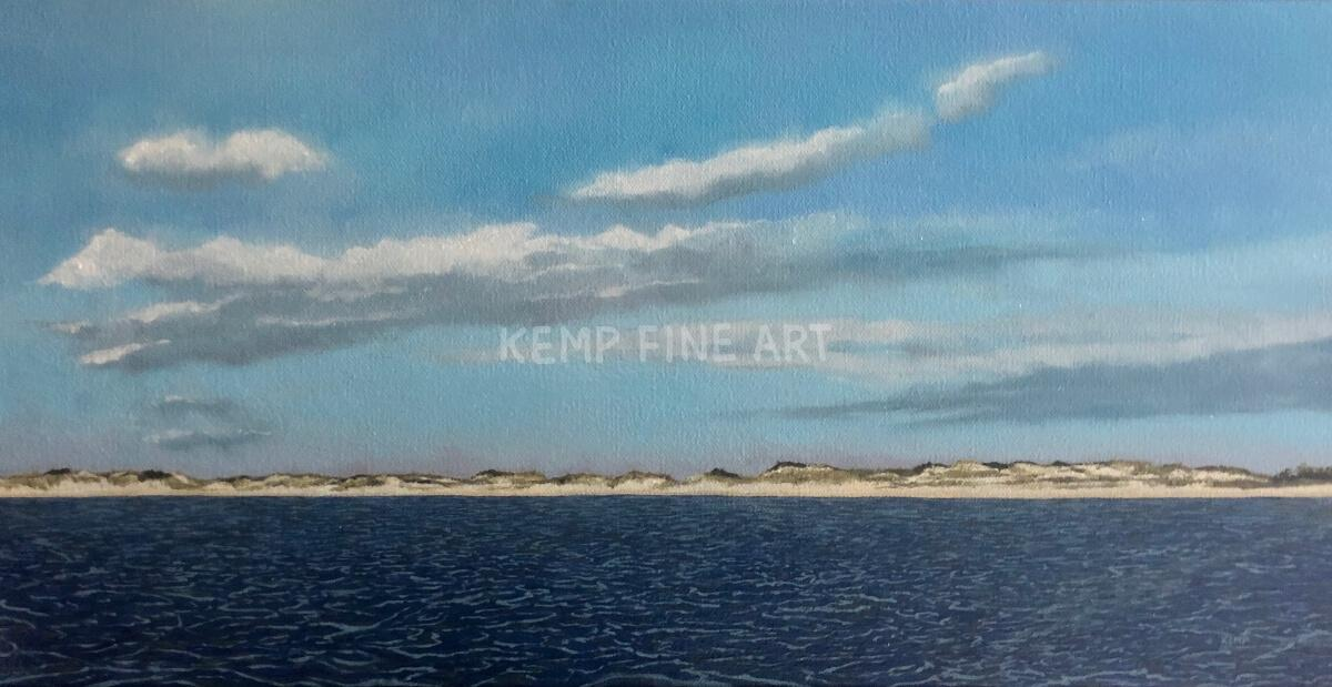The Dunes | Oil on Canvas - by Jim Kemp