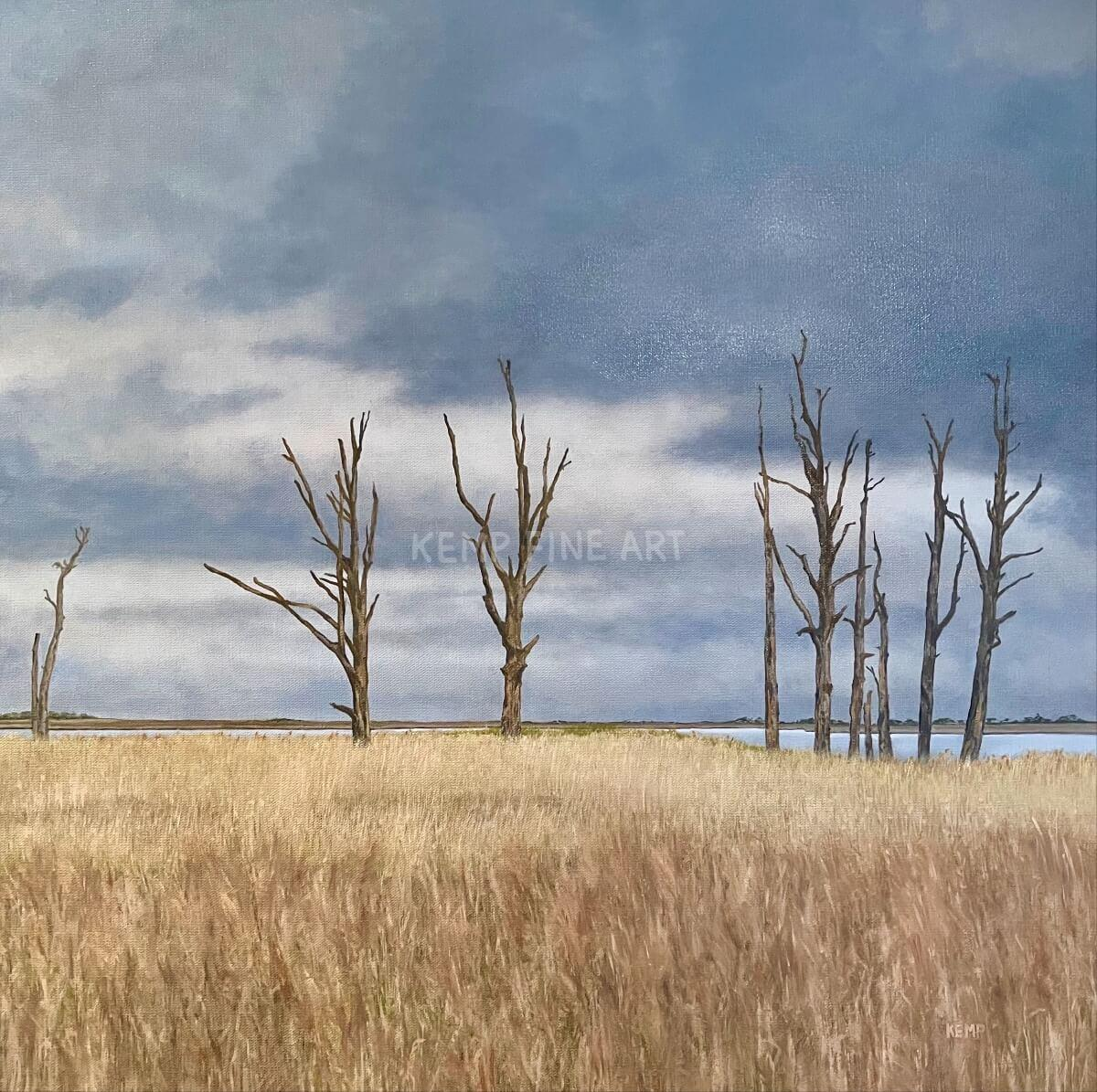 Ghost Forest | Oil on Canvas - by Jim Kemp