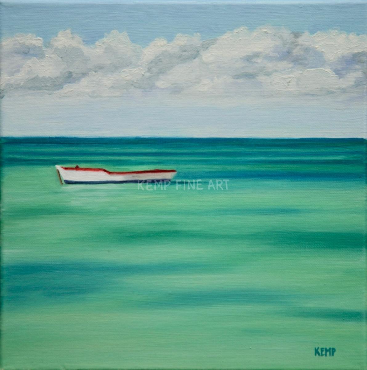 Orca - Aruba | Oil on Canvas - by Jim Kemp