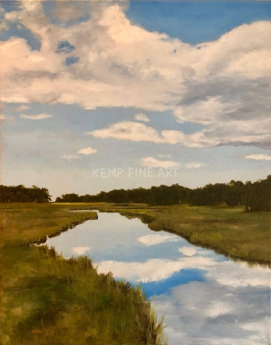 Munchy Branch | Oil on Canvas - by Jim Kemp