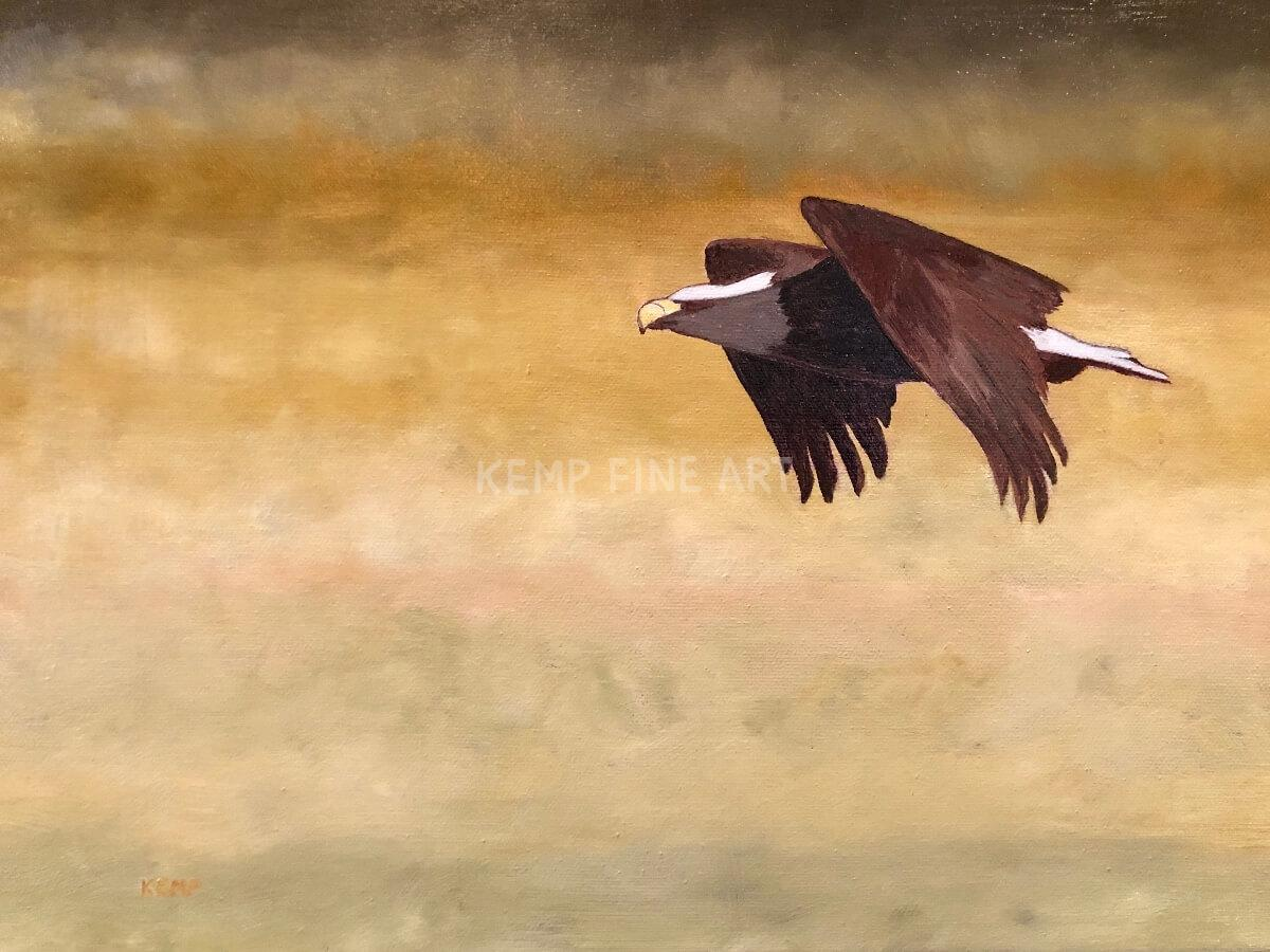 On The Hunt | Oil on Canvas - by Jim Kemp