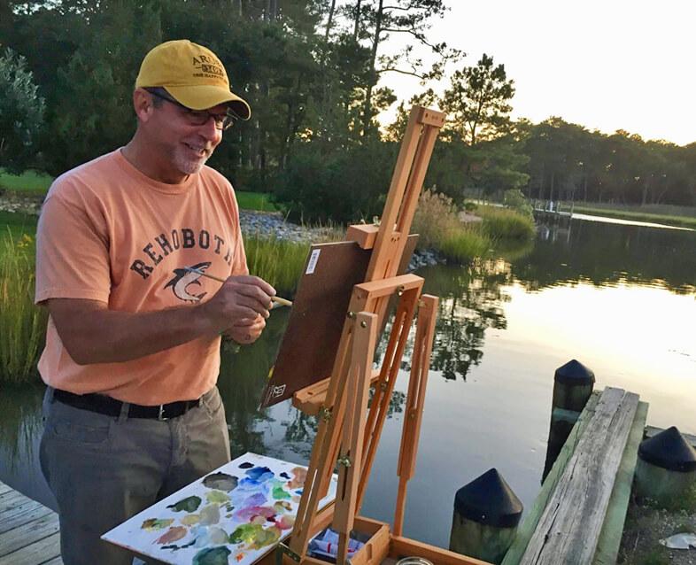 jim kemp painting